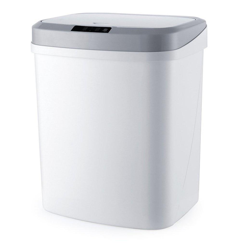Papelera automática sin contacto con Sensor de movimiento infrarrojo inteligente, cubo de basura para la cocina, cubo de basura para el hogar