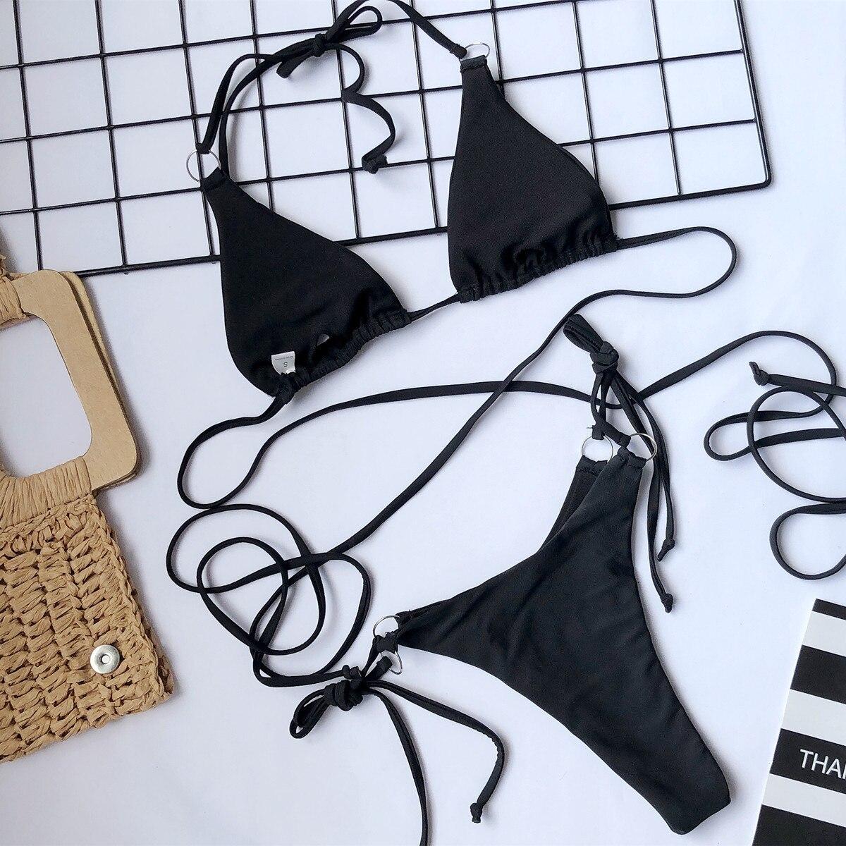 Sexy Women Bikini Brazilian Swimsuit Push-up Bra Bikini Set Two Piece Swim Suit Swimwear Beachwear Bathing Maillot De Bain Femme