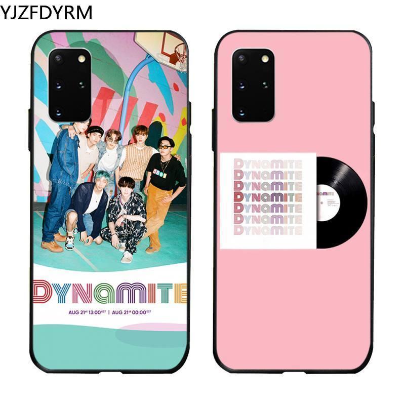 Dinamita kpop caso de teléfono para Samsung S20 plus Ultra S6 S7 borde S8 S9 más S10 5G lite 2020
