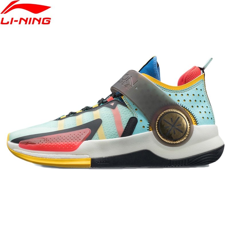 Li-Ning Men Wade FISSION VII On Court Basketball Shoes BOOM LIGHT FOAM Cushion Support Durable LiNing Sport Shoes ABPR025