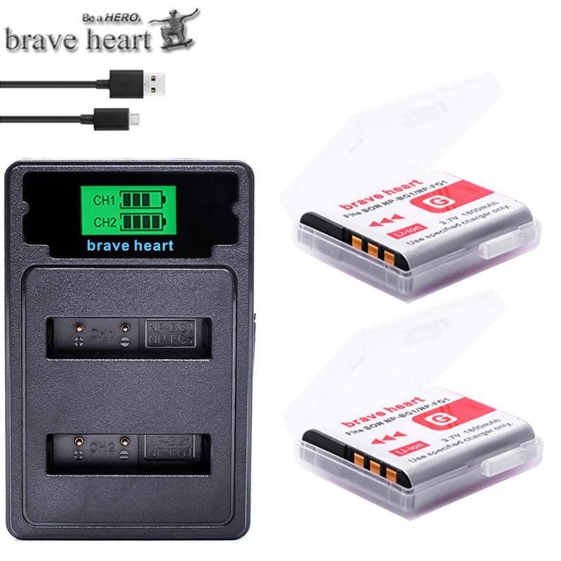 Bateria 2x np bg1 fg1 NP-BG1, bateria + carregador duplo lcd para sony DSC-H3 DSC-H7 DSC-H9 DSC-H10 DSC-H20 DSC-H50 DSC-H55 DSC-H70