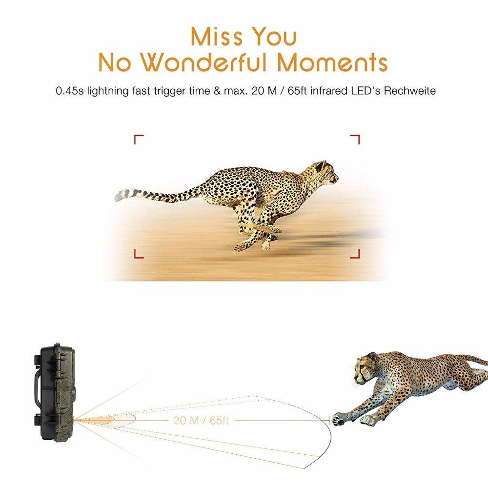 IP66 Waterproof 12MP 1080P HD Night Version Wild Life Animal Trail Track Hunting Camera enlarge
