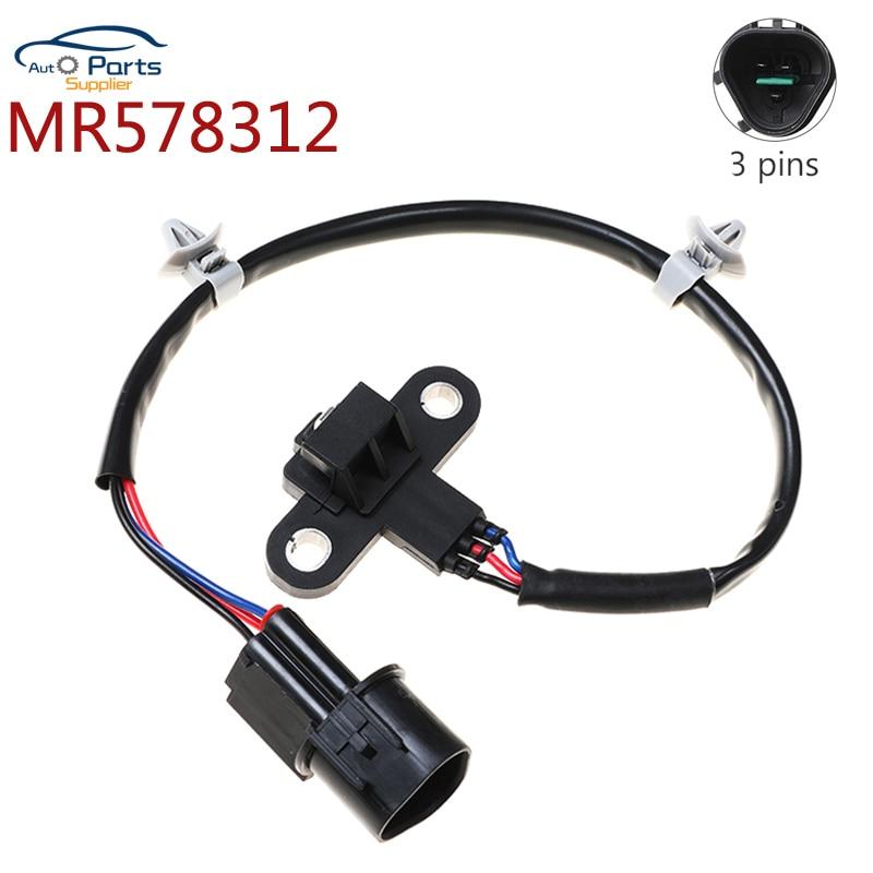 Sensor de posición de cigüeñal para Eclipse Mitsubishi Galant Sebring Chrysler Dodge Stratus PC424 MR578312 1802302271