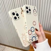 popular cute pattern phone case for iphone 12 pro max 11 x xs xr xsmax se2020 8 8plus 7 7plus 6 6s plus cover