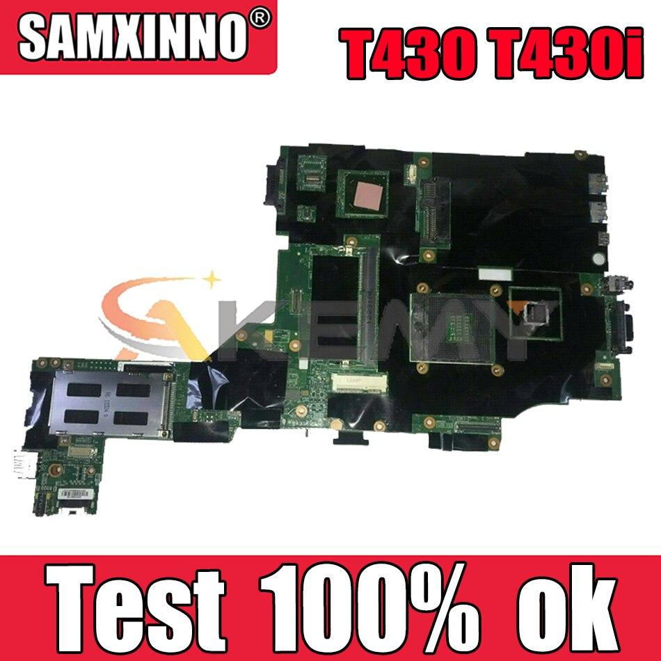 Akemy ?????? ???? ??? T430 T430i ?????? ?????? FRU 04Y1423 04X3651 04X3655 QM77 DDR3 NVS 5400 ??? 1 ???????? ?????