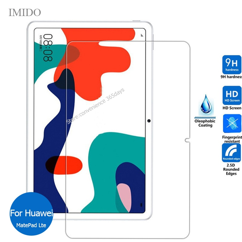 For Huawei MatePad Lte 10.4 Tempered Glass Screen Protector Safety Protective Film on Mate pad 10.4 BaH3 W09 Honor V6 KRJ W09