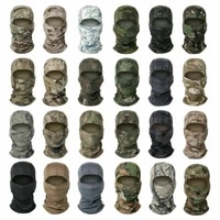camouflage army cycling snow ski motorcycle cap balaclava hats full face mask men women windproof helmet liner hood neck warmer