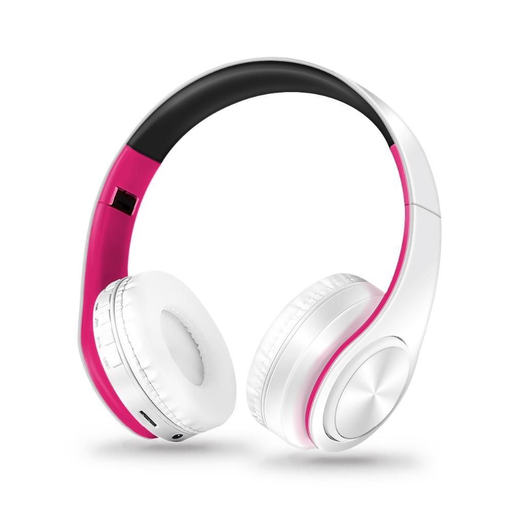 سماعات رأس بخاصية البلوتوث سماعات لاسلكية, سماعات ستيريو قابلة للطي، سماعة أذن تستخدم عند ممارسة الرياضة، سماعة رأس مع ميكروفون، ومشغل MP3