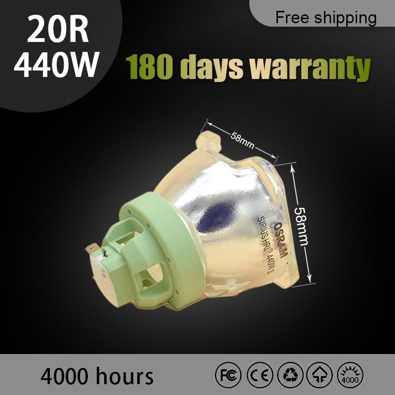 استبدال العارية لمبة 440W 20R ل أوسرام P-VIP 440/1.3 E21.9 العارض مصباح يتحرك رئيس MSD شعاع البلاتين 20R مصباح