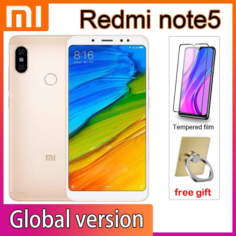 Смартфон Xiaomi Redmi note5, 4 Гб + 64 ГБ, Snapdragon 636, 2160*1080, полный экран 5,99 дюйма, камера 13 МП, сканер отпечатков пальцев/лица