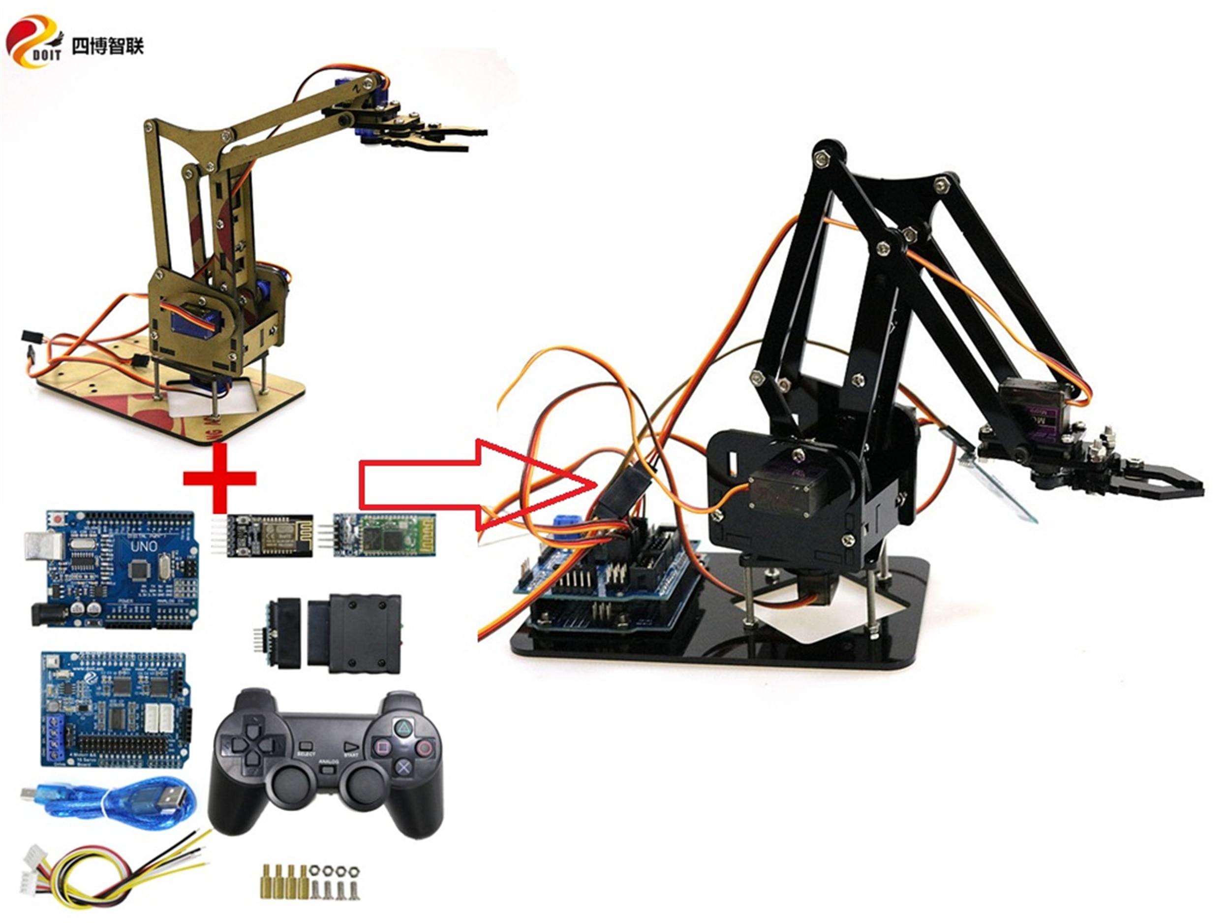 4-осевой робот-рычаг SZDOIT с Wi-Fi/Bluetooth/руч�