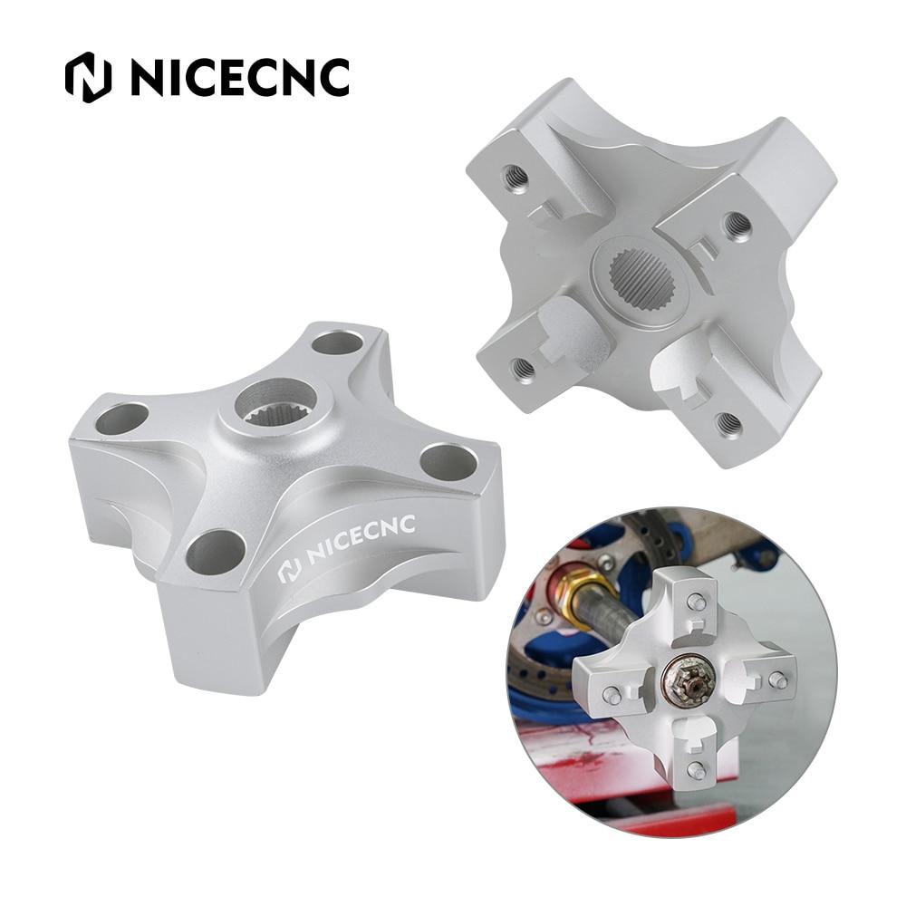 "NiceCNC 2"" Extended Rear Axle Wheel Hub for Yamaha YFZ 450 2004-2021 RAPTOR 700 2006-2021 660 2001-2005 BANSHEE 350 1987-2006"