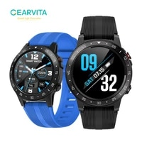 gearvita gps smart watch compass sim card dial call heart rate barometer altitude m5s outdoor sport watch men for android ios