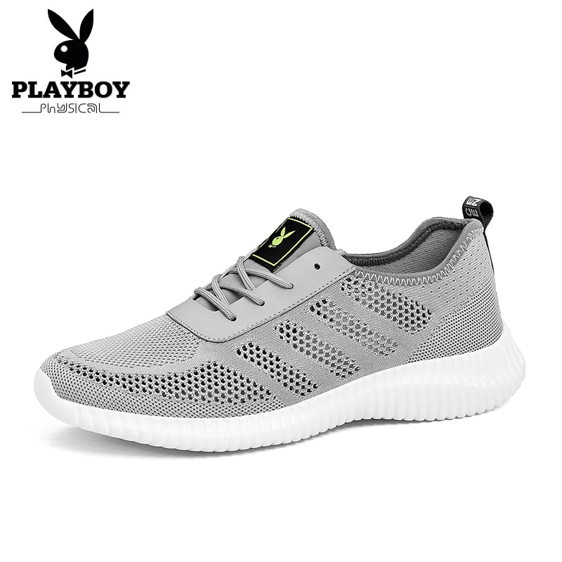 PLAYBOY nuevos zapatos para correr de hombre Zapatillas de malla transpirables de moda zapatillas de tenis para hombre calzado para caminar Jogging