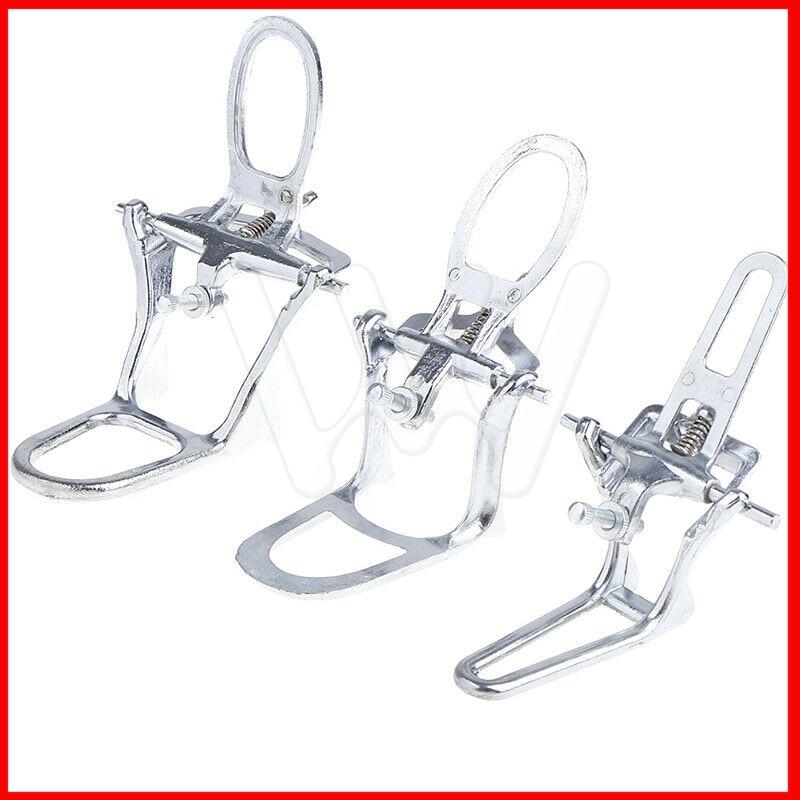 Articulador de laboratorio Dental cromado completo arco alto ajustable tamaño L/M/S