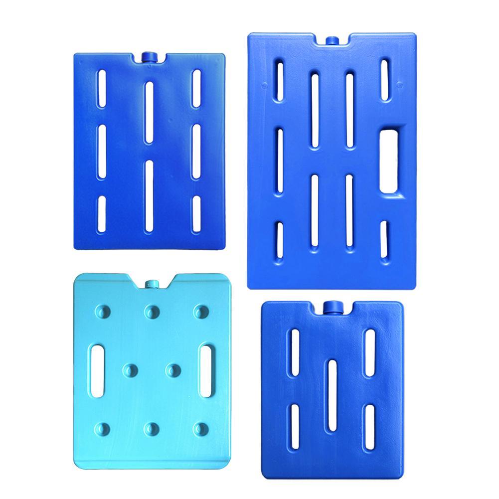 Refrigerador fresco azul reciclável, mantém o gelo fino