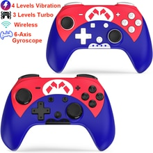 Wireless Switch Controller with Turbo,Vibration,6-Axis Motion Control,One-key Wakeup/Mapping for Nin