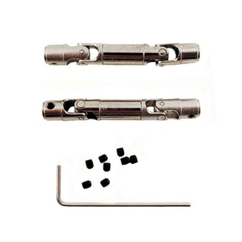 Extraíble de Metal transmisión eje actualización accesorio de ajuste para WPL C-14 C-24 C-34 C-44 MN90/MN96/MN99/MN99S 1/16 partes de camiones