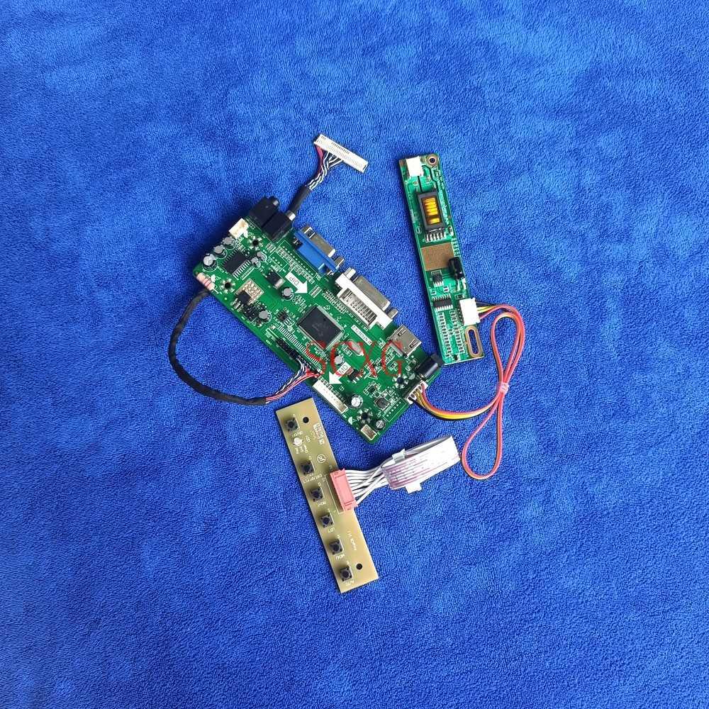 HDMI-متوافق VGA DVI 1CCFL لتقوم بها بنفسك عدة 30 دبوس LVDS ل N141I1/N141I3/N141I4 شاشات كريستال بلورية 1280*800 متر. NT68676 محرك تحكم المجلس