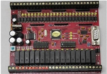 Le tableau de commande industriel de PLC est compatible avec FX1N 40MR MT a connecté la surveillance en ligne décran tactile de texte