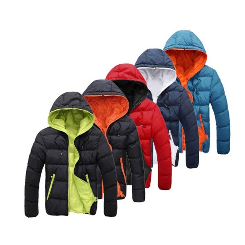 2021 зимние модные толстые пальто, мужские пуховики с капюшоном