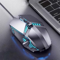 rgb wired gaming mouse silent ergonomic manipulator feeling electric competition eating chicken game mouse for laptop computer