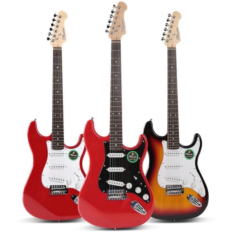 Pickup Travel Guitar Electric High Quality Semi Hollow Portable Guitar Precision Bass Guitarra Electrica Instruments DE50JT enlarge