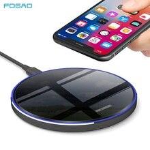 FDGAO 15W 10W Qi chargeur sans fil miroir chargeur rapide pour iPhone SE 2X8 XR XS 11 Pro Max Samsung S9 S10 S20 chargeur de téléphone