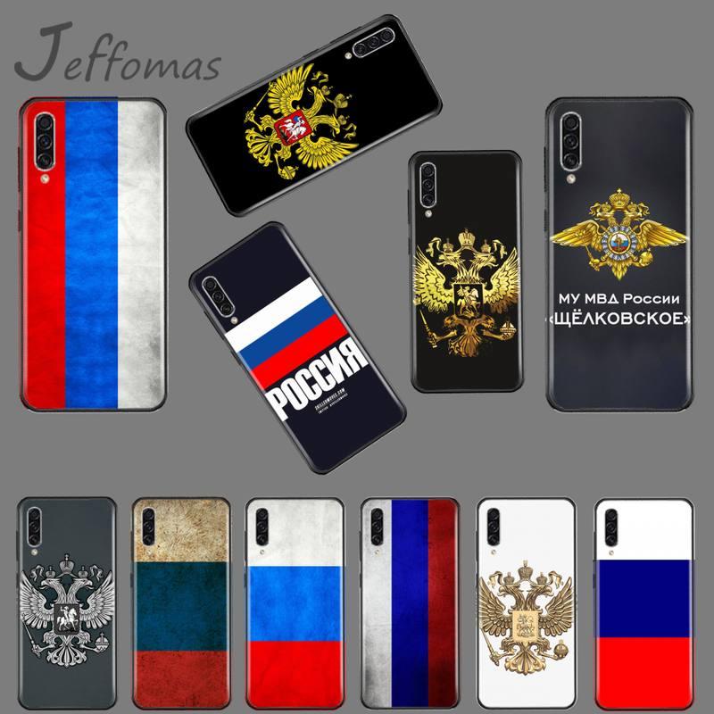 Russian flag brand Phone Case For Samsung Galaxy M10 20 30 A 40 50 70 71 6S A2 A6 A9 2018 J7 CORE PLUS STAR S10 5G C8