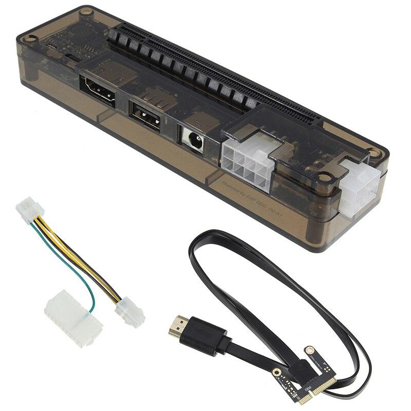جديد Pcie Pci-E Pci محمول خارجي مستقل بطاقة الفيديو قفص الاتهام بطاقة Express نسخة صغيرة Pci-E ل V8.0 Exp Gdc
