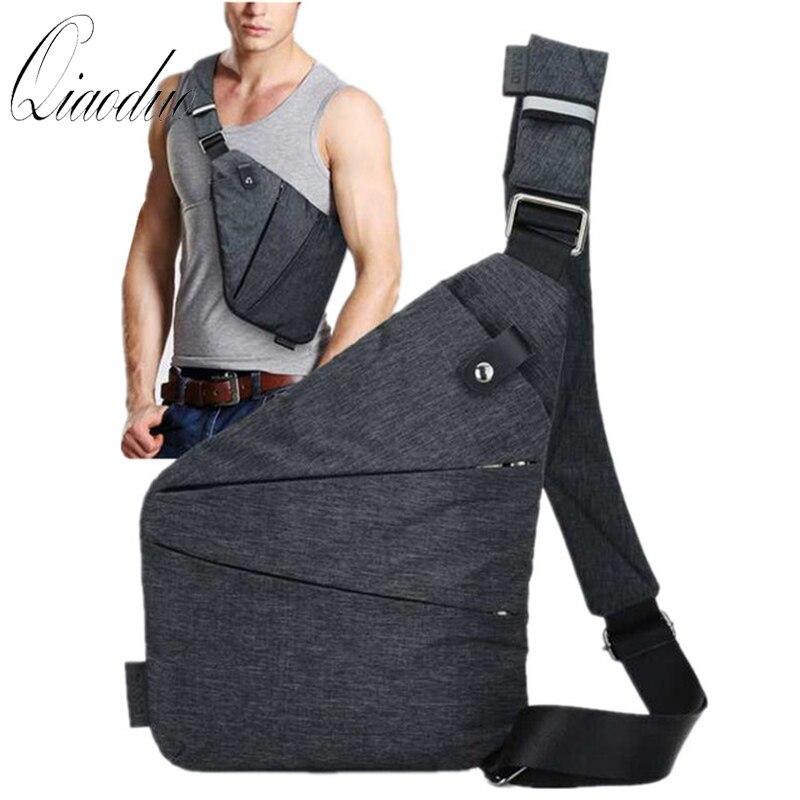 Marke Männer Reise Business Fino Tasche Burglarproof Schulter Tasche Holster Anti Theft Sicherheit Strap Digital Speicher Brust Taschen CE3122