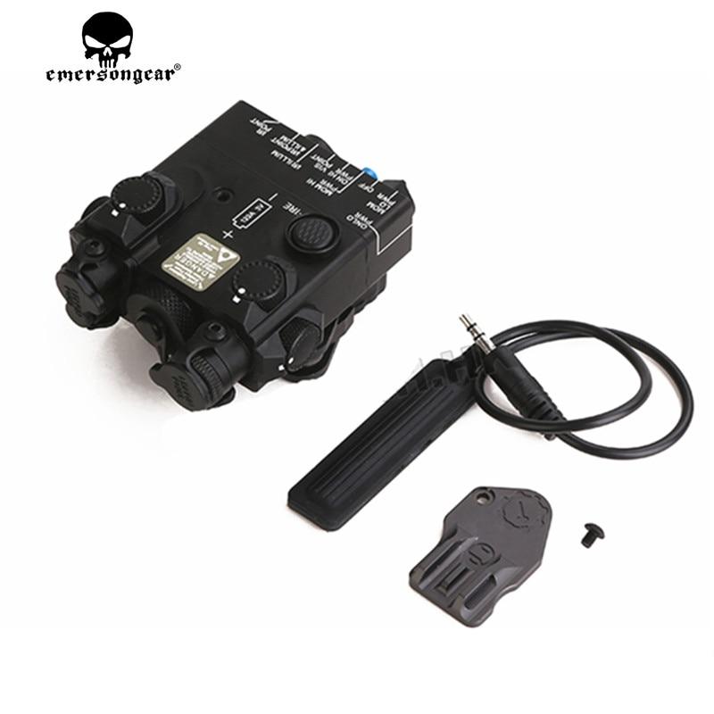 DBAL-A2 PEQ-15A IR الليزر المتكاملة مع الأحمر الليزر LED ضوء تأتي مع Reomote