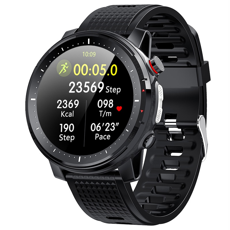 For Android Iphone IOS Phone Smart Watch Men 2021 IP68 Waterproof Ecg Heart Rate Sports Man Smartwatch Men Full Touch 360*360