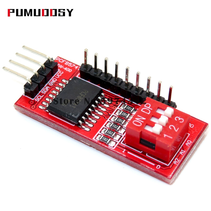 1 sztuk PCF8574 PCF8574T I/O dla I2C IIC Port interfejs obsługuje kaskadowanie rozszerzony moduł karta rozszerzenia wysoki niski poziom
