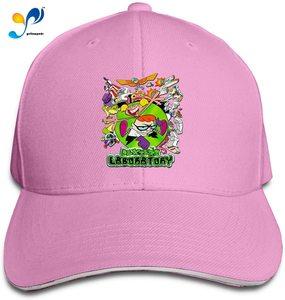 Dexter's Cap Laboratory Headdress Sandwich Hat Unisex Vogue Sunhat Adjustable Baseball Cap