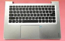 Nuevo original para Lenovo ideapad 310S-13 510S-13 funda para portátil C carcasa con teclado chino + touchpad borde blanco plateado 5CB0L4500