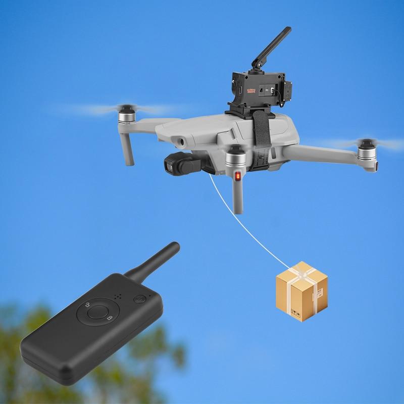 Remoto para Dji Isca de Pesca Sistema de Queda de ar Lançador Mavic ar Fimi X8se Fantasma 3 4 Entrega Parabólico Drone 2 – Pro