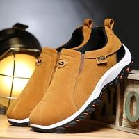 Кроссовки мужские легкие из дышащего материала, повседневная прогулочная обувь, лоферы, без застежки, для улицы, размер 39-48, осень-весна