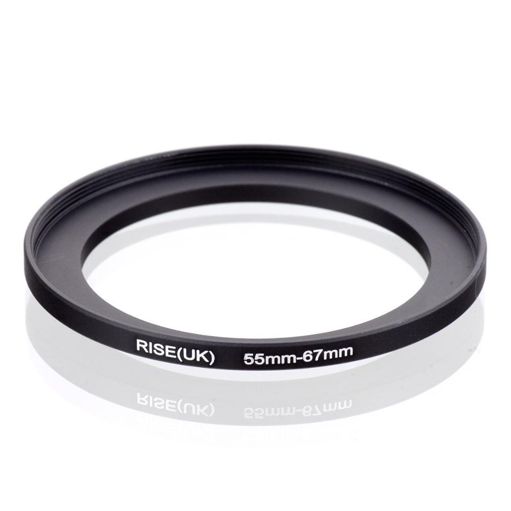 RISE(UK) 55mm-67mm 55-67mm 55 a 67 anillo de filtro de elevación adaptador