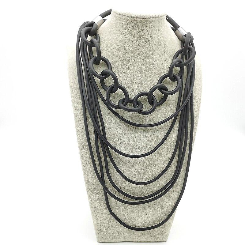 Yd & ydbz novo designer artesanal colar dois estilos combinar longo pendnat colares para as mulheres 2020 moda jóias acessórios gargantilha