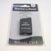 20 pièces 3600mAh batterie pour Sony PSP1000 PSP 1000 pour PlayStation Portable Li-Ion Lithium Batteries rechargeables remplacement