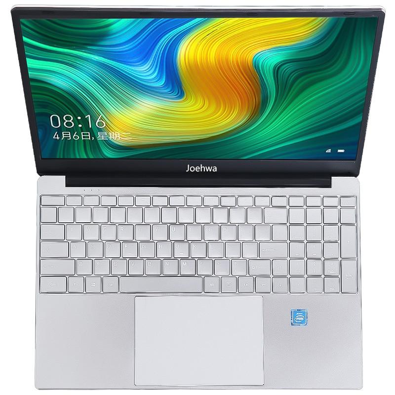 Joehwa 15.6 inch 8G/16G DDR4 RAM 128G/256G/512G/1TB SSD Notebook Computer Metal Body IPS Backlit Keyboard