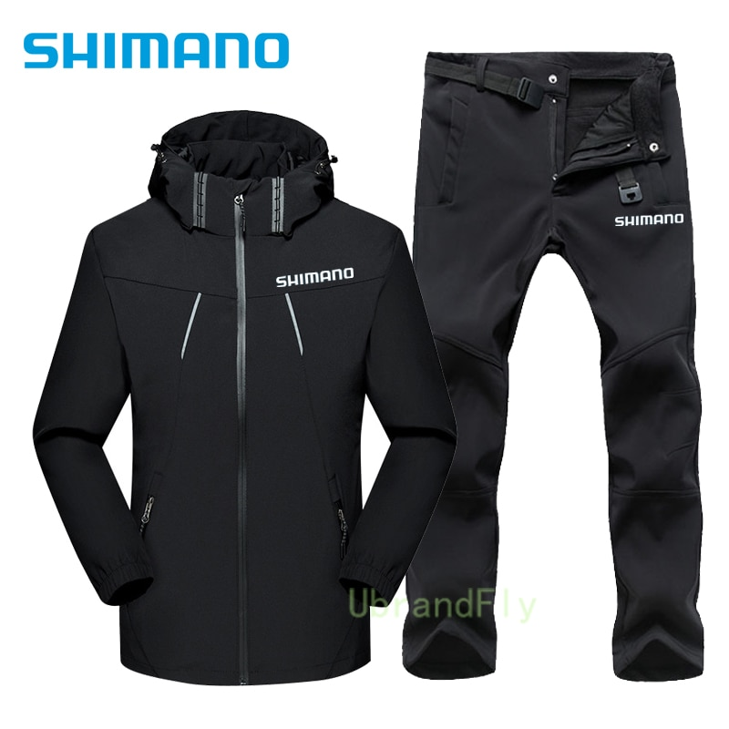 Shimanos Fishing Suit Waterproof Breathable Naturehike Outdoor Sports Fishing Clothes Durable Keep Warm Fishing Wear for Men enlarge