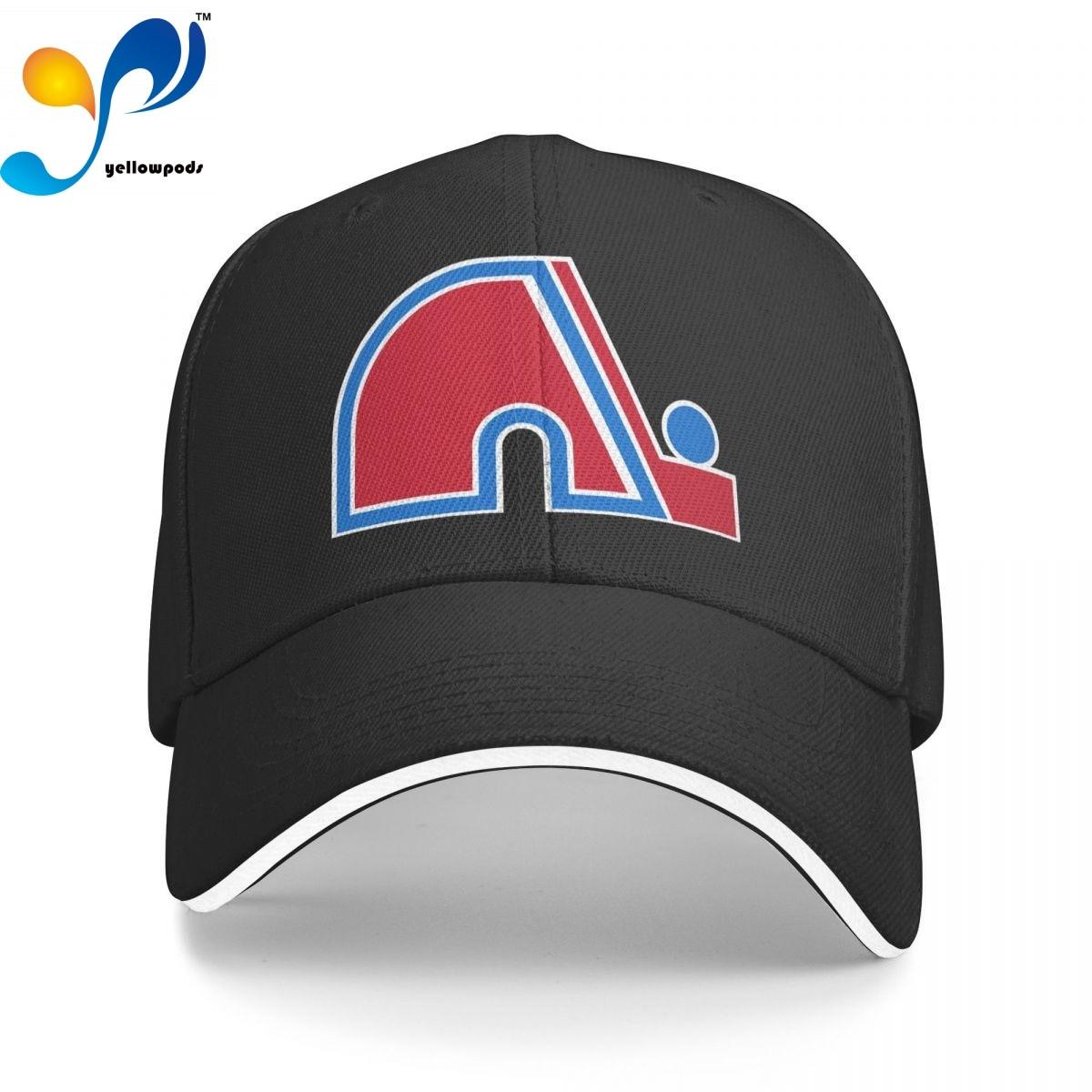 Квебек Нордикс, ретро хоккейная кофта с логотипом, Кепка-бейсболка для мужчин, бейсболка, мужские кепки с логотипом