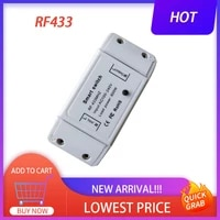 433 RF On-off Device Switch Module Universal Breaker Timer Wifi Smart Light Switch Smart Home Work Home Accessories Modification