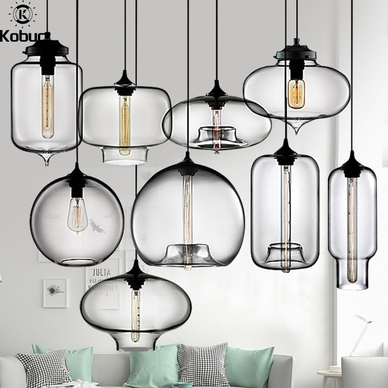 Подвесная лампа E27 в скандинавском стиле, светодиодсветодиодный лампы 9 типов для столовой, кухни, ресторана, подвесное освещение для бара