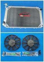 3 rangées tout en aluminium radiateur + ventilateur pour Nissan patrouille GQ 2.8 4.2 Diesel TD42 & 3.0 essence Y60