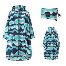 Impermeabile traspirante da donna di grandi dimensioni XXL cappotto antipioggia leggero Poncho impermeabile da donna mantello impermeabile impermeabile antivento per adulti