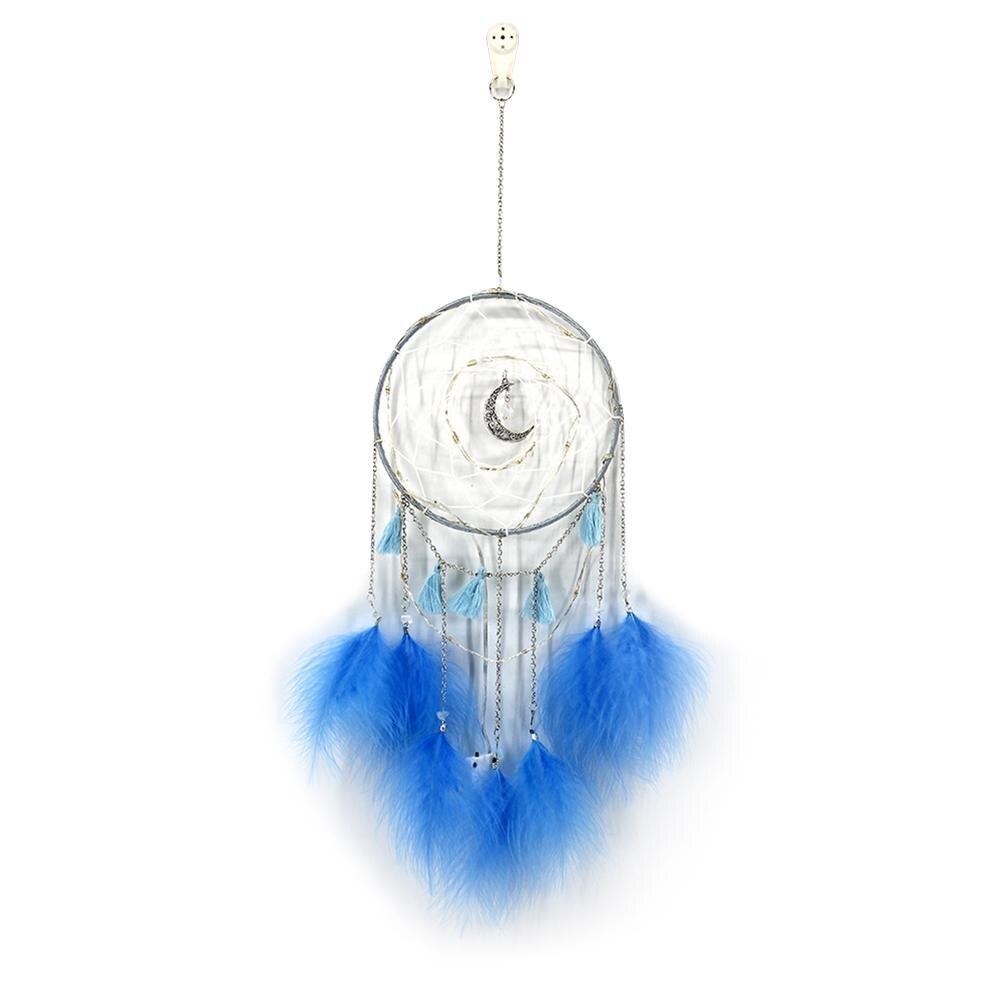 Рождественский подарок Ловец снов перо дизайнерское кольцо украшение на стену