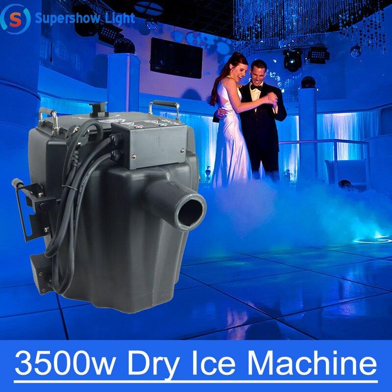 آلة ثلج جاف 3500 واط ، ضباب أرضي ، لحفلات الزفاف ، النوادي الليلية والمناسبات ، نوعية جيدة